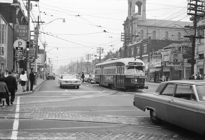 Danforth and Pape Toronto 1964