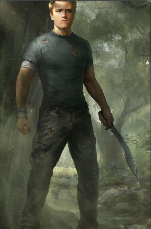 Dit is Peeta Malarck hij is erg sterk en is goed met camouflage. In zijn vrij tijd werkt hij met zijn ouders in een bakkerij. Hij is niet echt populair dus en hij is ook niet goed met meisjes behalve dan met Katniss die twee worden al snel verliefd op elkaar. In het gevecht is het wapen van Peeta eigenlijk gewoon zijn handen en zijn camouflage techniek.