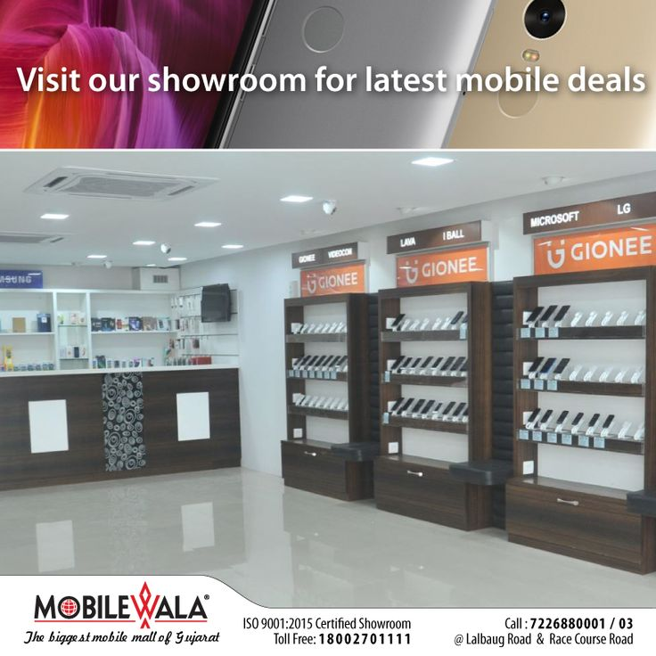 Visit our showroom for latest mobile deals on #Samsung#MI#MicroMax#iphone#vivo#Oppo and many more Mobile phones. આજે જ તમારા નજીકના મોબાઇલવાલા📱📲 શોરૂમ પધારો Mobilewala Vadodara (લાલબાગ રોડ & રેસ કોર્સ રોડ બ્રાન્ચ) Toll-Free No: 18002701111 Visit: http://www.mobilewalavadodara.com/ #MobilewalaVadodara #Mobilewala #BuySmartPhone #Smartphone #Vadodara #Baroda