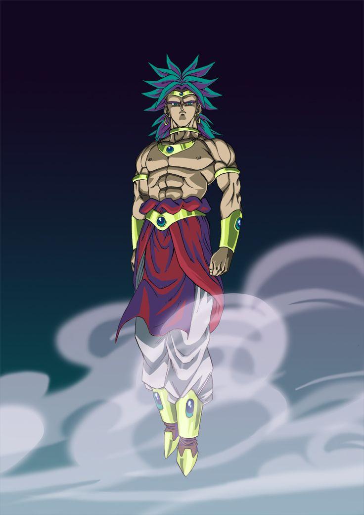 Broly Restrained Super Saiyan by BrolyManiac.deviantart.com on @DeviantArt