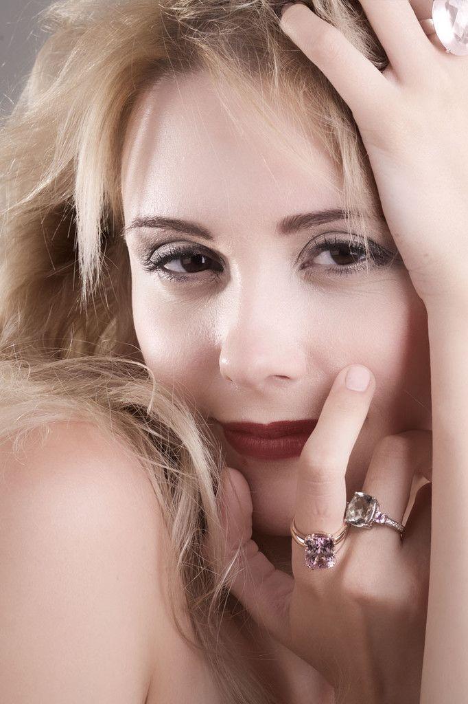 Kunzite rectangle cushion cut rose gold ring, size 7 - Ready to ship o – Sarah Hughes