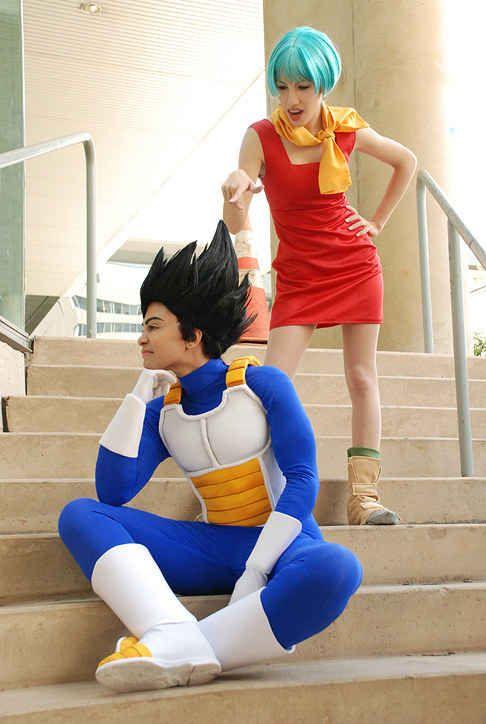 Vegeta & Bulma (Dragon Ball Z)