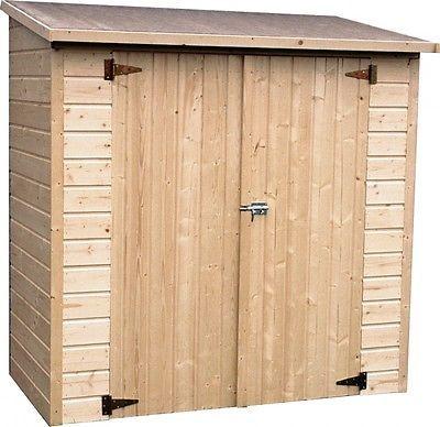 ARMADIO IN LEGNO ALBECOUR Dimensioni 170x81,2 H 183 cm - pareti 12mm in Giardino e arredamento esterni, Arredamento da esterno, Altro arredamento esterno | eBay