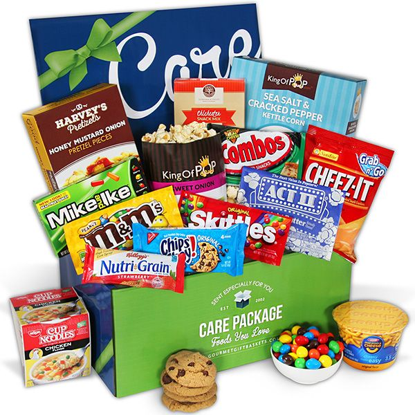 Exam Cram Care Package by GourmetGiftBaskets.com