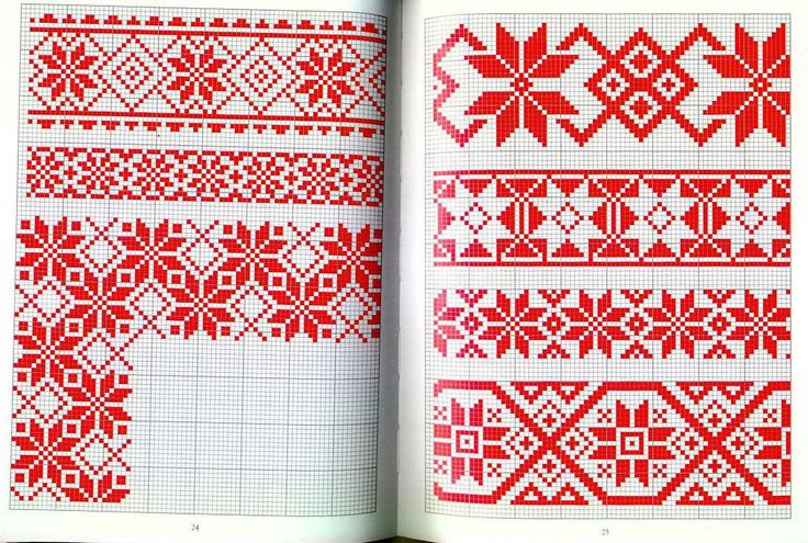 Red and White Traditional 3