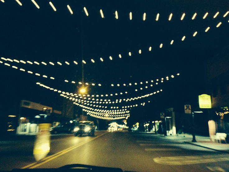 Main St, Jenks, Tulsa, Oklahoma.