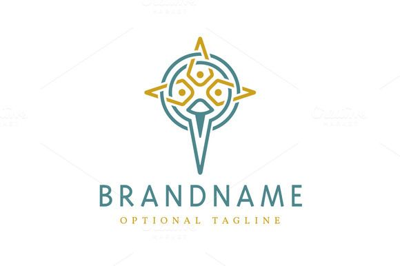For sale. Only $29 - simple, religion, circle, compass, cross, star, abstract, four, golden, ring, triple, guide, god, ancient, Christian, faith, three, way, trinity, inner, ornament, divine, holy, spike, interlaced, ritual, dagger, sigil, blue, direction, knot, church, logo, design, template,