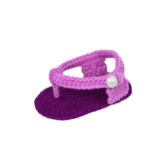 Bigood 0-6 Baby Krabbelschuhe Gestrickte Schuhe flauschige Baby-Unisex Länge 11 cm - http://on-line-kaufen.de/bigood/bigood-0-6-baby-krabbelschuhe-gestrickte-schuhe