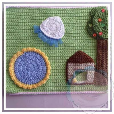 Creative Crochet Workshop: My Crochet Dollhouse Part Seven. free pattern 10/15