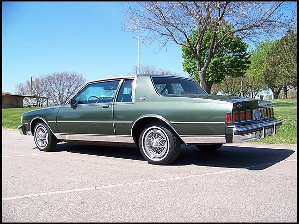 1985 Chevrolet Caprice Presented As Lot F137 At Des Moines Ia