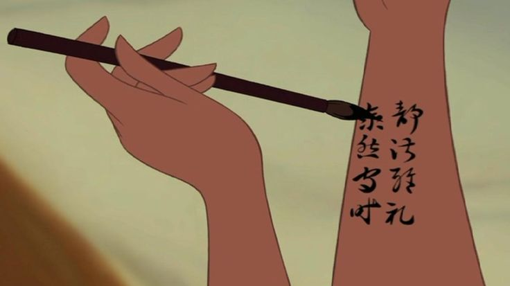 Chinese symbols for love tattoo