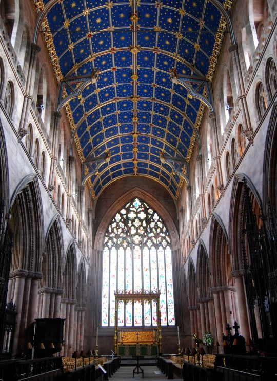 Interior of  Carlisle Cathedral, Carlisle, Cumbria,  England  photography by cityhopper2