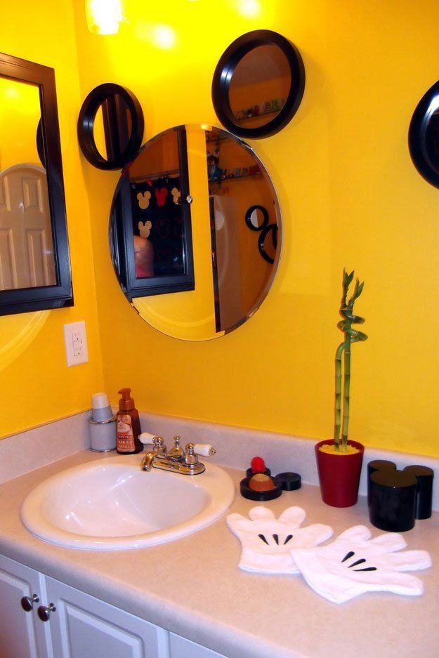 17 best ideas about mickey mouse bathroom on pinterest Disney bathroom ideas