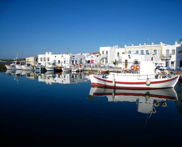 cool Family vacation on the island of Paros