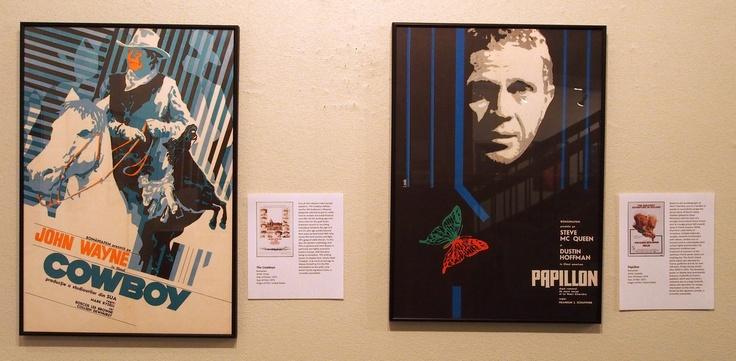 The Cowboys & Papillon (Romanian posters)