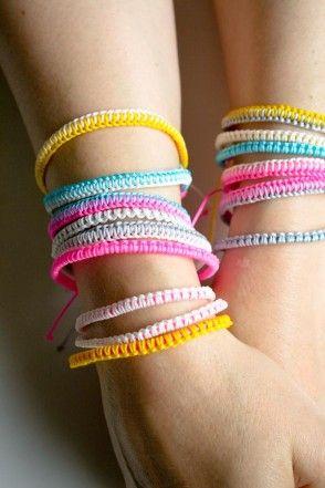 Breezy Friendship Bracelets | The Purl Bee