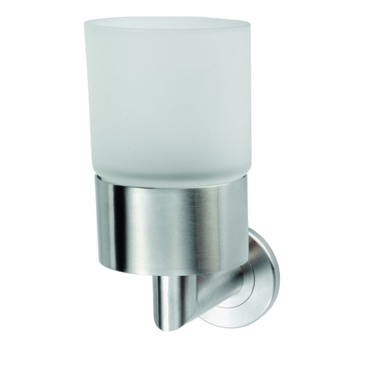 Stainless Steel Single Tumbler and Holder - To place an order call us on 014198778