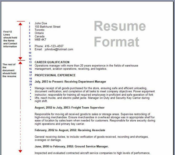 13 best Jobs images on Pinterest Resume tips, Cover letter - cv format for teaching