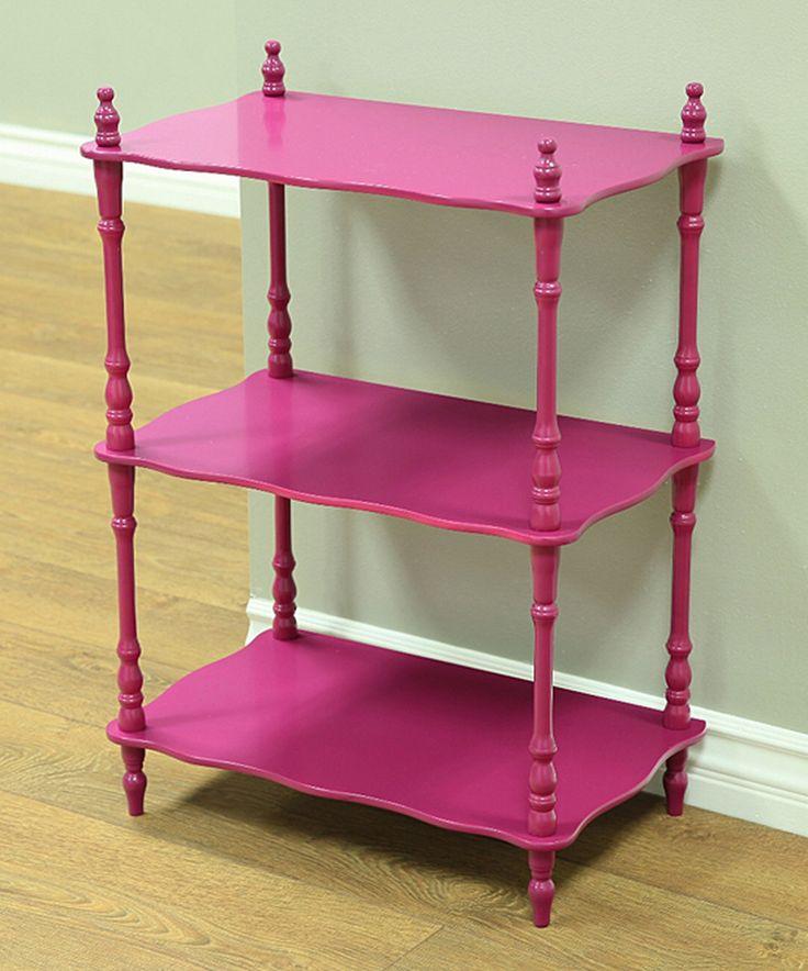 Another great find on #zulily! Purple Three-Tier Shelf by Megaware Furniture #zulilyfinds