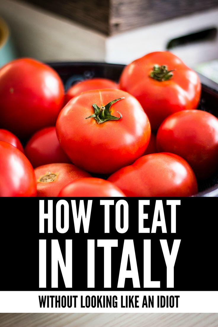Next time you visit Italy don't worry about looking like a foolish tourist, here are the best tips on how to eat in Italy.