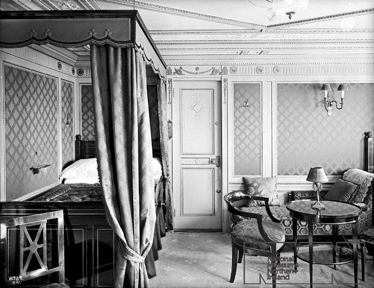 Titanic First Class Suite Titanic Pinterest Titanic