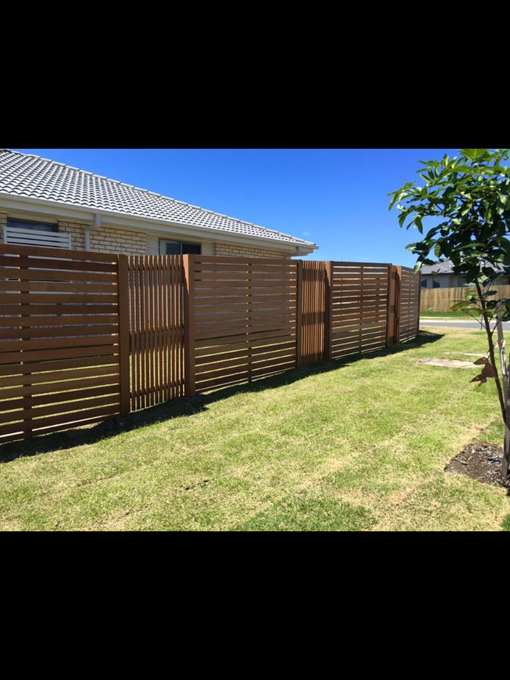 All Good Fencing Qld  Feature timber slat fence, side fence,front fences, hardwood, Gold Coast,  https://www.facebook.com/allgoodfencingqld