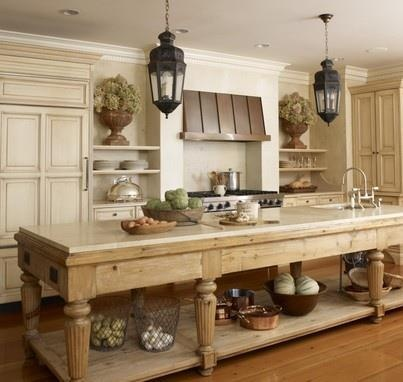 I guess u need to cook for this kind of kitchen!