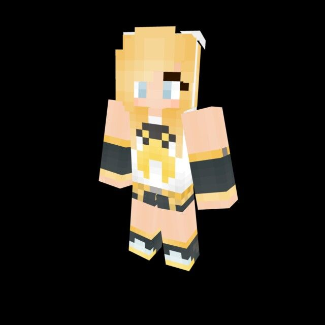 Rin Kagamine Minecraft Skin Disney And Other Stuffs