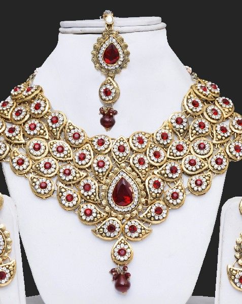 Indian Wedding Hand Made Jewelry Sets