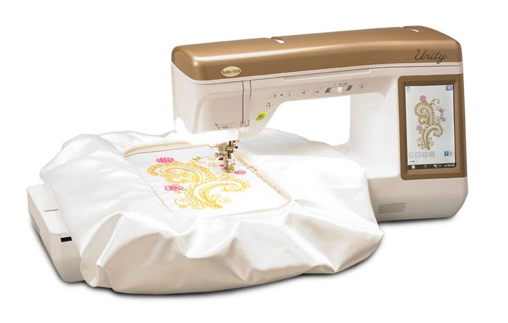 Unity--my new machine, the best of both worlds, sewing AND embroidery!