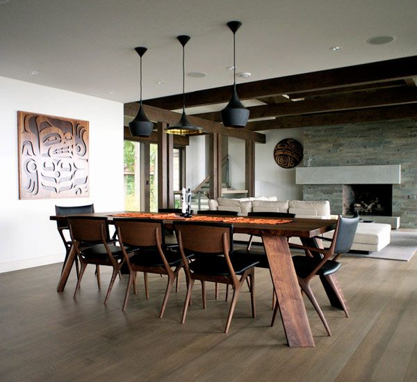 48 best images about modern dining room on pinterest for Modern formal dining room sets