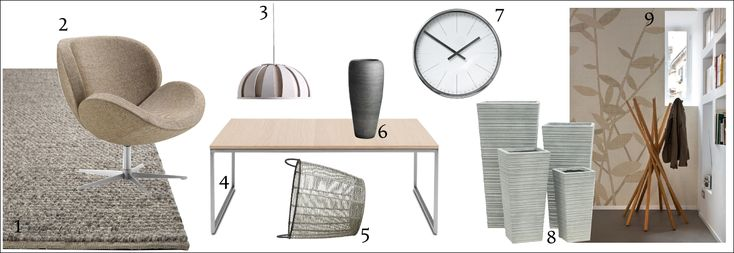 Neutrální interiérová inspirace / neutral simple interior