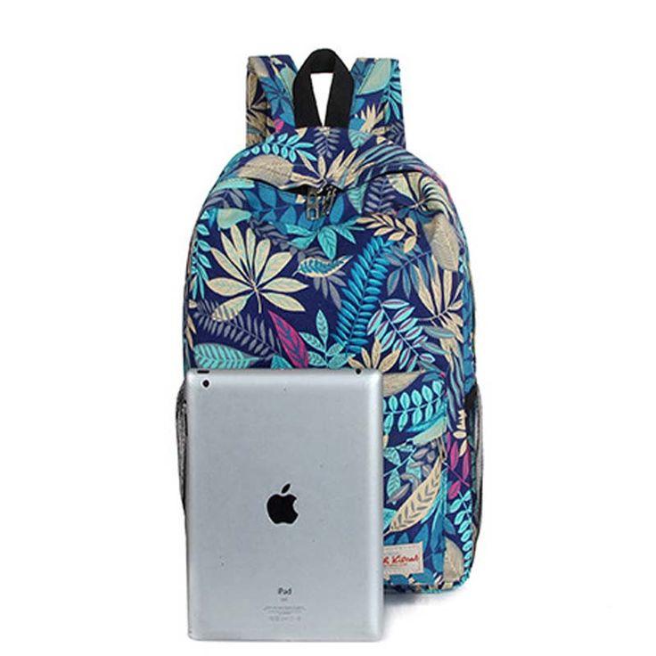 New nylon backpacks for teenage girls fashion