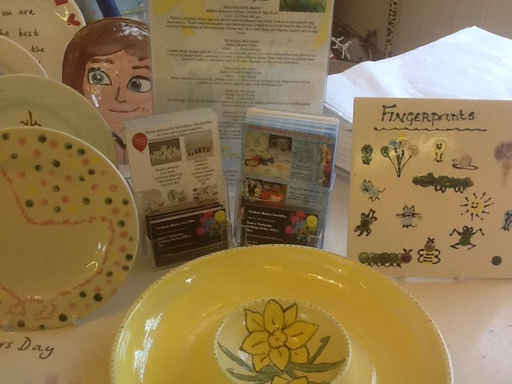 Our new special offers in our paint your own pottery studio in Needham market