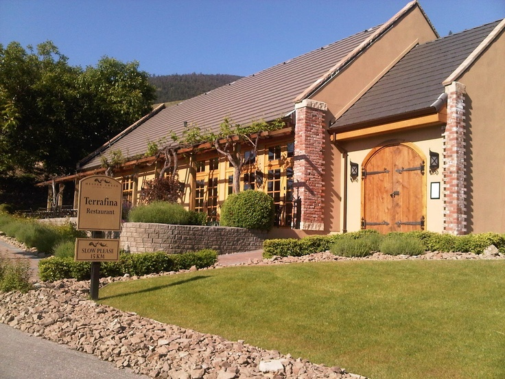 Terrafina Restaurant at Hester Creek Winery in Oliver, BC