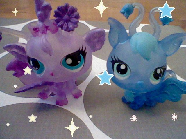 These two are blind bags. I just added some extra color to the main parts! Pin if u like!