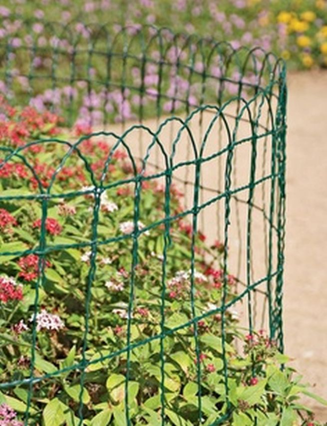 Garden Border Fence  A Beauty Element With Protection: Garden Border Wire ~  Virtualhomedesign.