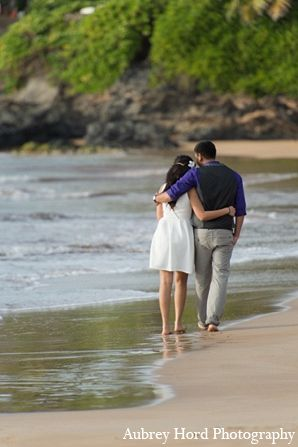 indian wedding engagement portraits beach ocean http://maharaniweddings.com/gallery/photo/7065