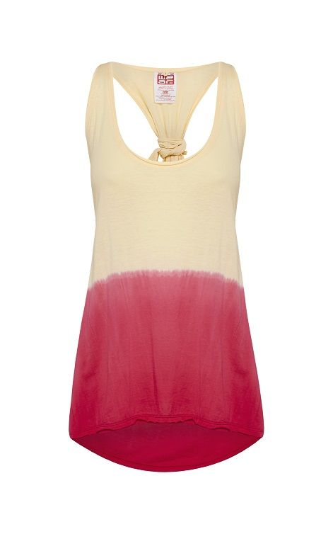 WE'AR Waterfall Tank, Rose Gold & Mexican Pink- RRP$95.00