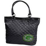 Green Bay Packers Sport Noir Quilted Tote at the Packers Pro Shop