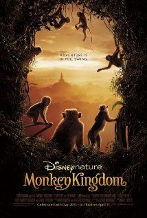 Monkey Kingdom (2015) - A nature documentary that follows a newborn monkey and its mother as they struggle to survive within the competitive social hierarchy of the Temple Troop, a dynamic group of monkeys who live in ancient ruins found deep in the storied jungles of South Asia.