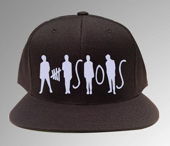 5 Seconds of Summer, 5 SOS, SNAPBACK, Luke Ashton Mikey Calum on Etsy, £12.26 NEEDDDD>>>>need it! But they should have made Luke's figure taller than everybody else's lol