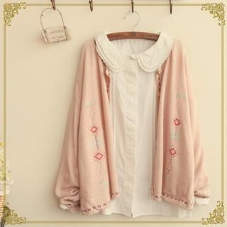 Buy 'Fairyland – Embroidered Cardigan' with Free International Shipping at YesStyle.com. Browse and shop for thousands of Asian fashion items from China and more!