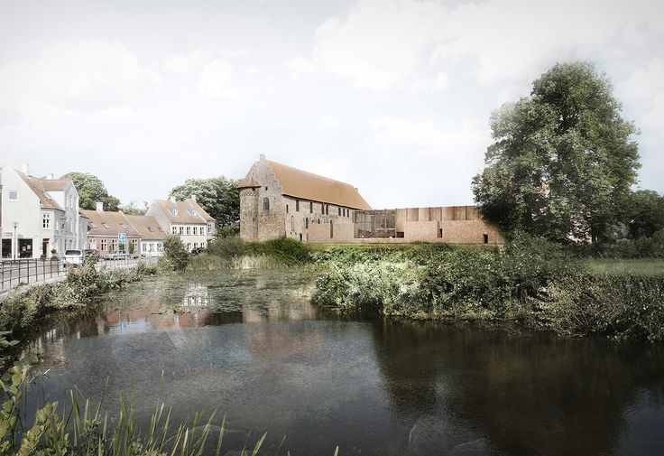 Gallery of Cubo   jaja Win Competition to Restore the Nyborg Castle in Denmark - 1