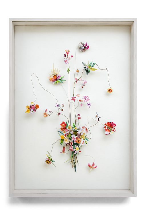 進化した押し花!3D押し花アートの繊細で幻想的な世界
