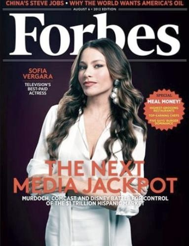 Sofia Vergara Tops The List Of The Best Paid Actresses On Television