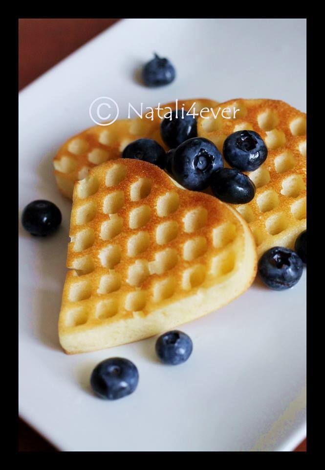 Valentines wafles