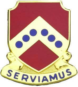 732 Maintenance Battalion Unit Crest (Serviamus)