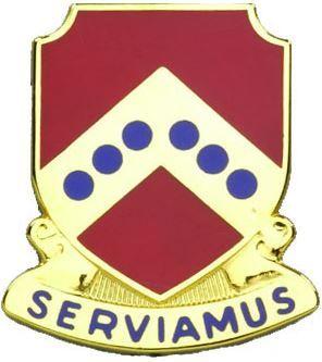 732 Maintenance Battalion Unit Crest (Serviamus)