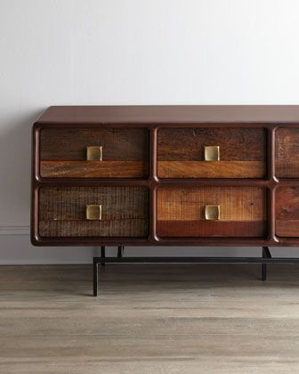 """""""Stafford"""" Entertainment Cabinet at Horchow.  #Horchow"""